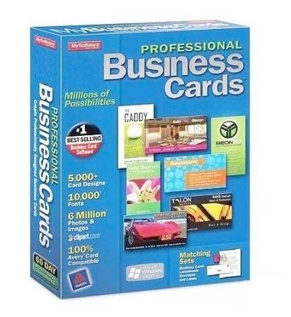 Mojosoft BusinessCards MX 4.62 ML Portable by Maverick
