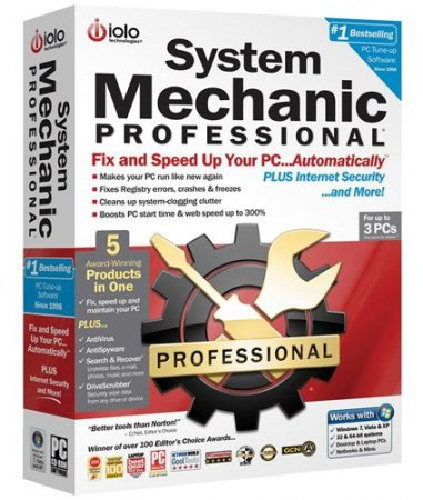 System Mechanic Professional 10.7.6.9