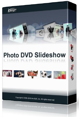 AnvSoft Photo DVD Slideshow Professional 8.33 + Rus + шаблоны DVD меню