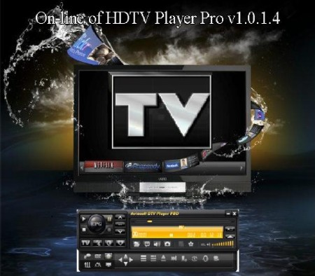 On-line of HDTV Player Pro v1.0.1.4 Rus/Pc