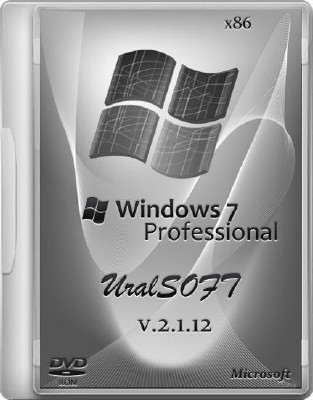 Windows 7 x86 Professional UralSOFT 2.1.12 (2012/RUS)