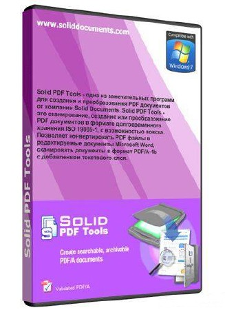 Solid Documents Solid PDF Tools 7.2 build 1479