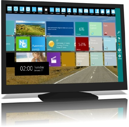 Windows 8 Skin Pack 12.0 for Windows 7 x86/x64