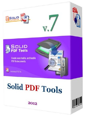 Solid PDF Tools v 7.2 build 1498 RePack ENG/RUS