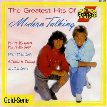 Modern Talking - The Greatest Hits Of (1989)