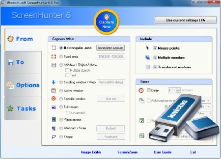 ScreenHunter Pro 6.0.829 Portable (ENG) 2012