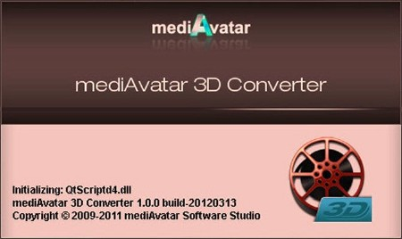 mediAvatar 3D Video Converter 1.0.0.20120313 (ENG) 2012