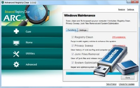 Advanced Registry Clear Pro v2.2.5.2 Portable (ENG) 2012