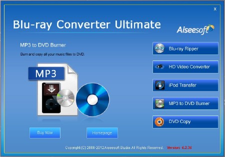 Aiseesoft Blu-ray Converter Ultimate v6.2.36 (ENG) 2012