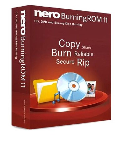 Nero Burning ROM v 11.2.4.100 Portable (ML/RUS) 2012