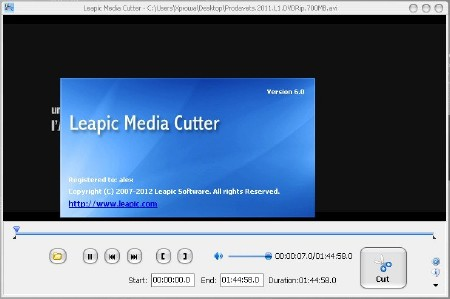 Leapic Media Cutter 6.0 (ENG) 2012