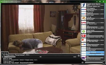 Player Parom.TV v1.0 Beta (2012/Rus)