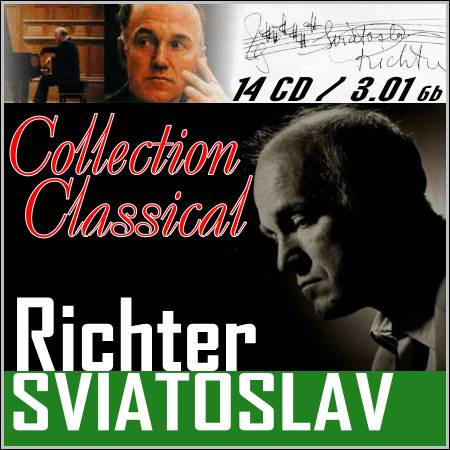 Sviatoslav Richter - Collection 14 CD (FLAC)