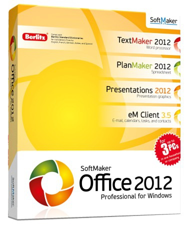 SoftMaker Office 2012.663 (ML/RUS) 2012 Portable