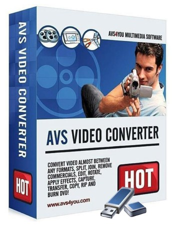 AVS Video Converter 8.2.1.525 (ML/RUS) 2012 Portable