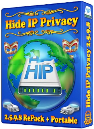 Hide IP Privacy 2.5.9.8 RePack (RUS) 2012 Portable