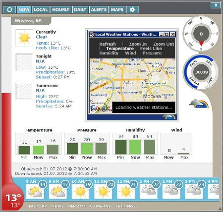 Weather Watcher Live 7.1.39 (ENG) 2012