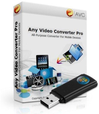Any Video Converter Professional 3.4.0 (ML/RUS) 2012 Portable