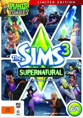 The Sims 3: Supernatural Limited Edition (2012/ENG/FAiRLIGHT)