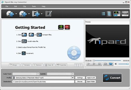 Tipard Blu-ray Converter 6.3.36 (ENG) 2012 Portable
