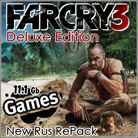 Far Cry 3. Deluxe Edition (New Rus RePack)