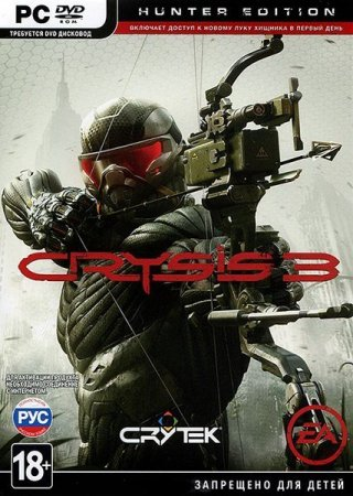 Crysis 3: Deluxe Edition / Hunter Edition (2013/RUS/ENG/Rip от =Чувак=)