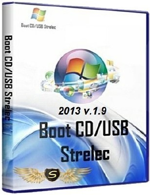 Boot CD/USB Sergei Strelec 2013 v 1.9 MULTI/RUS