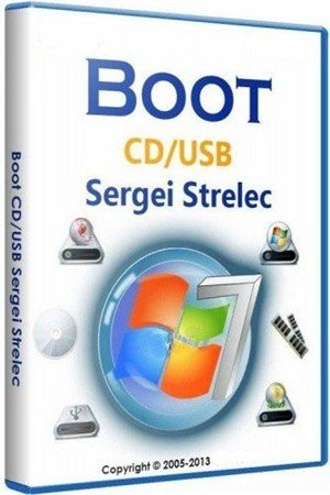 Boot Windows 8 PE Sergei Strelec (2013/RUS/ENG)