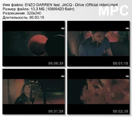 ENZO DARREN feat. JACQ - Drive (Official video) mp4