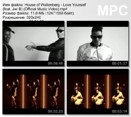 House of Wallenberg - Love Yourself (feat. Jwl B) (Official Music Video) mp ...