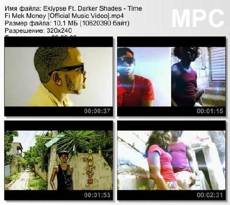 Eklypse Ft. Darker Shades - Time Fi Mek Money [Official Music Video] mp4