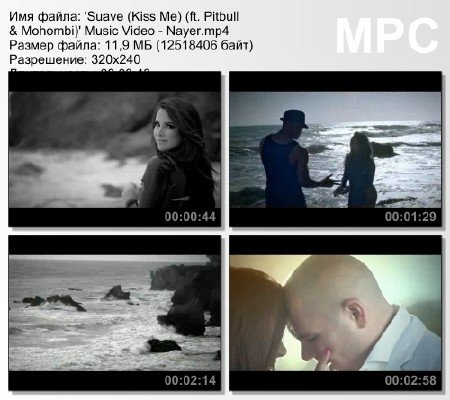 'Suave (Kiss Me) (ft. Pitbull & Mohombi)' Music Video - Nayer mp4
