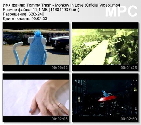 Tommy Trash - Monkey In Love (Official Video) mp4