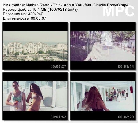Nathan Retro - Think About You (feat. Charlie Brown) mp4